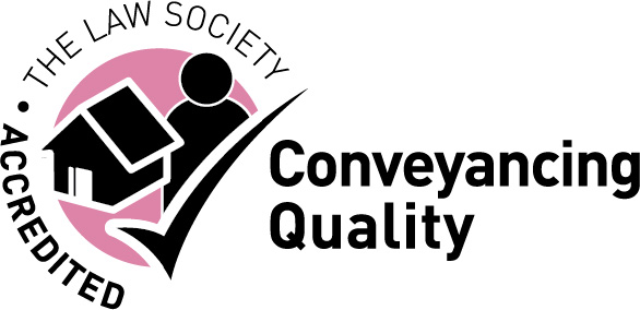 Conveyancing Quality Scheme logo - a badge of quality conveyancing awarded by the Law Society