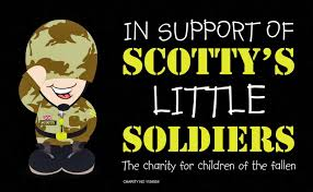 We support Scotty's Little Soldiers - helping the children of the fallen