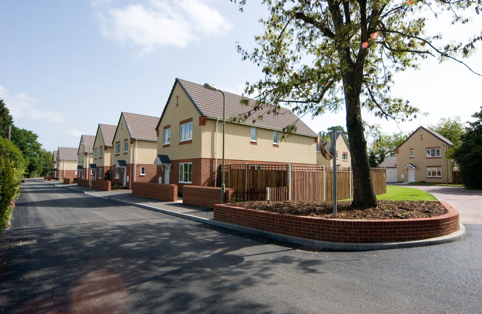 Armed Forces Conveyancing - picture of modernised street of forces accommodation at Solent - buy your property using Forces Help to Buy and Armed Forces Lawyers
