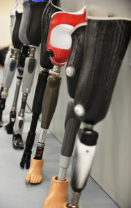 Picture of prosthetic limbs - why LPA important for armed forces personnel who may be incapacitated